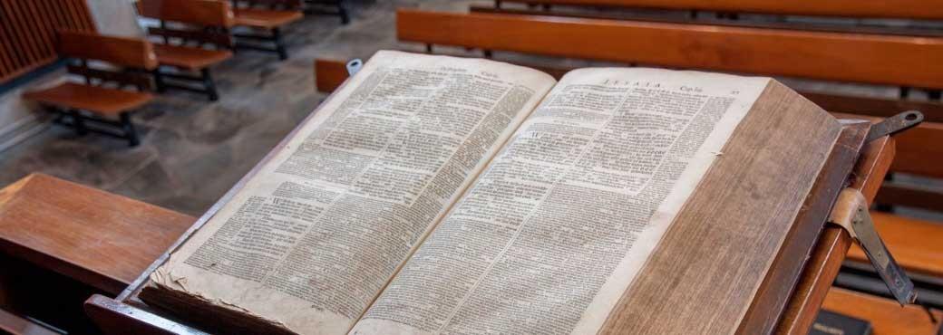 Bethelkerk - de Bijbel op de kansel